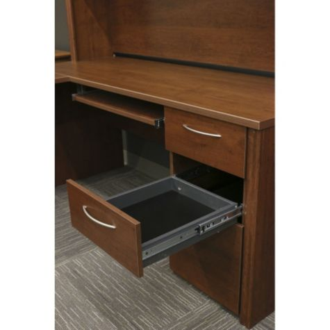 Middle Box Drawer Shown Open (hutch not included)