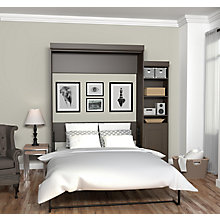 Queen Wall Bed with Storage, 8808766