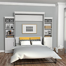 Edge Queen Wall Bed with Storage, 8808765