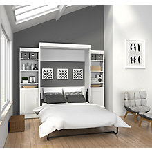 Edge Full Wall Bed with Storage, 8808767