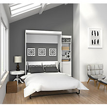 Full Wall Bed with Storage, 8808768