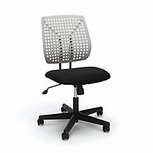 Armless Plastic Back Task Chair, 8813410