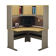 Corner Desk with Hutch, BUS-10138