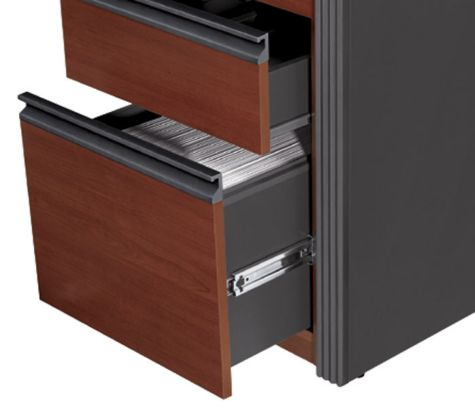 Full-pull drawer handle is easier to grasp