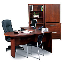 Embassy Peninsula L-Desk Set, OFG-EF0108