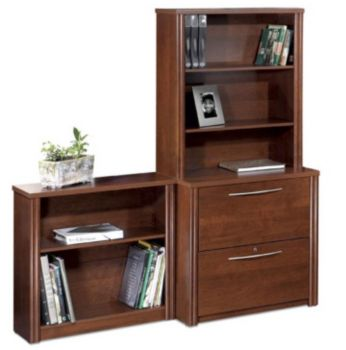 Embassy Lateral File And Bookcase Set Officefurniture Com