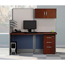 Straight Workstation with Hutch, 8828816
