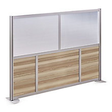 "At Work 61"" W x 53"" H Room Divider, 8808015"