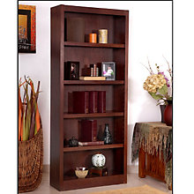 "Midas Five Shelf Bookcase - 72""H, CIW-MI3072"