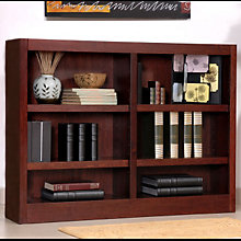 Midas Six Shelf Double Bookcase 36 H Ciw Mi4836