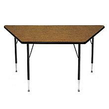 Adjustable Height Trapezoid Activity Table, OFG-TS1041
