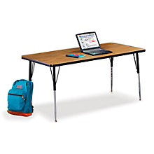 "60""W x 30""D Adjustable Height Child Size Activity Table, VIR-10234"