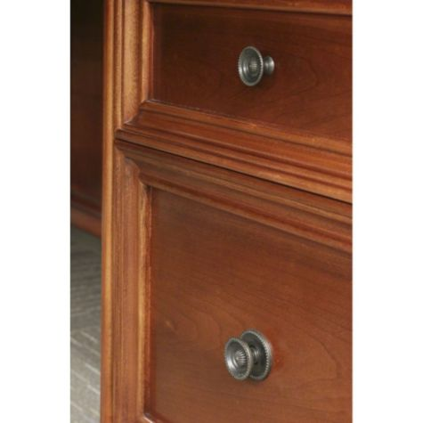 Close Up of Drawer Pulls
