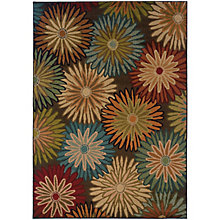 "Emerson Floral Rug 5'W x 7'6""D, 8825429"