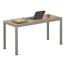 "At Work Table in Warm Ash - 72""W x 30""D, 8803979"