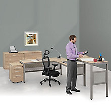 Executive L-Desk Suite in Warm Ash, 8803997