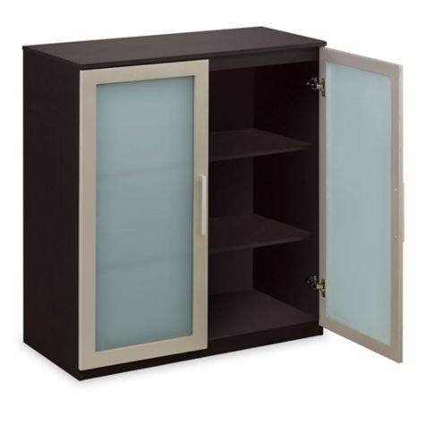 Three shelves for storage