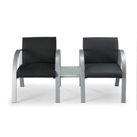 Connecting table acts like a side or end table