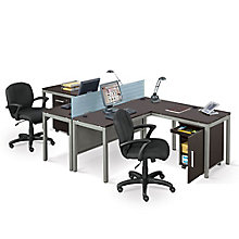 At Work Two Person Complete Compact Office, 8807979