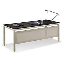 "At Work 72""W x 30""D Table Desk with Modesty Panel, 8807746"