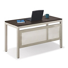 "At Work Table Desk with Modesty Panel - 48""W x 24""D, ERC-10900"
