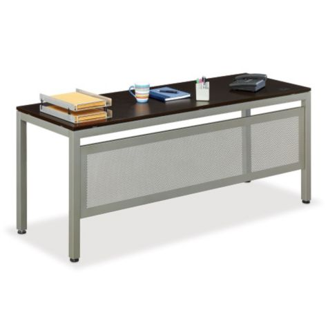 "72"" training table with modesty panel"
