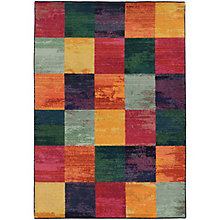 "Expressions Geometric Area Rug 7'10""W x 10'10""D, 8825377"