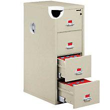 Fireproof Three Drawer Vertical File - Legal Size, FIR-3-2131-C
