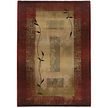 "Generations Bordered Rug 5'3""W x 7'6""D, 8825433"