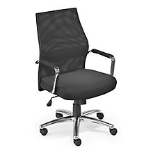 Mesh Mid Back Ergonomic Chair, 8813703