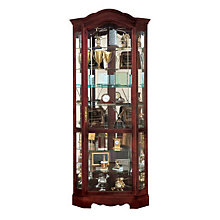 Jamestown Corner Display Case, HOM-680-249