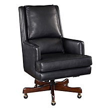 Seven Seas Executive Arm Chair in Leather, HOO-10867