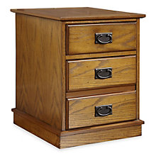 "Modern Craftsman Two Drawer Mobile Pedestal - 18"" W, HOT-10809"