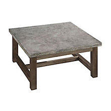 Concrete Chic Square Coffee Table, 8801349