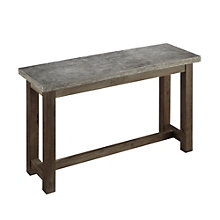 Concrete Chic Console Table, 8801350