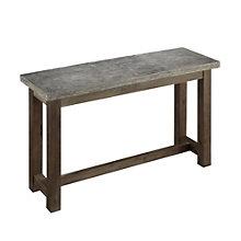Concrete Chic Console Table, 8801350