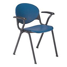 Polypropylene Stack Chair with Arms, OFG-SC0004