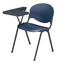 Polypropylene Stack Chair with Tablet Arm, OFG-SC0005