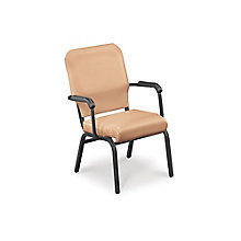 Fabric Stack Chair - 400 lb Weight Capacity , 8822467