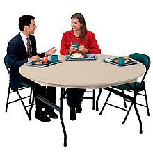 "ABS Plastic Folding Table 60"" Round, KRU-DLR60"