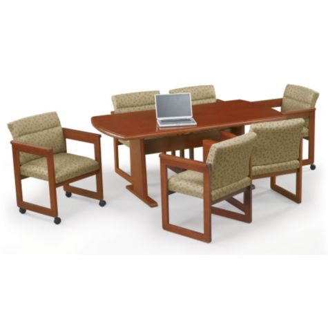 Conference Table shown with Chairs