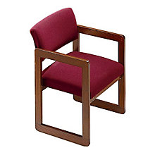 Fabric Sled Base Guest Chair, LES-C1101G3