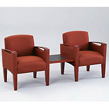 Two Chairs with Connecting Center Table, OFG-GR0006