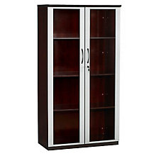 Corsica Storage Cabinet with Glass Doors, MAL-VCG