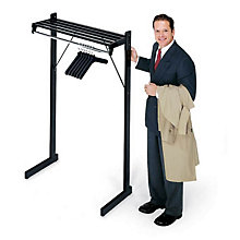 Free Standing Coat Rack - 4' Wide, MAN-DSF4H