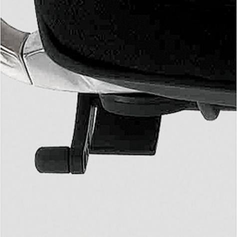 Control knob turns to adjust tilt tension