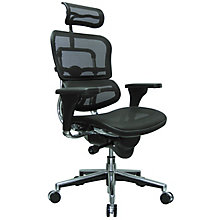 High Back Ergonomic Executive Chair with Headrest in Mesh, RMT-ME7ERG