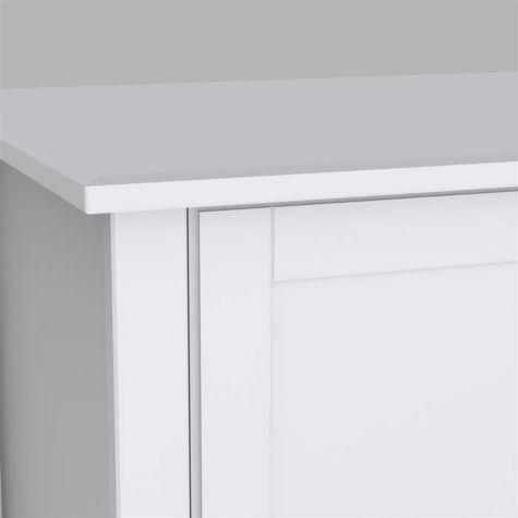 Contemporary plain door