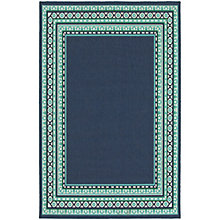 "Meridian Bordered Rug 7'10""W x 10'10""D, 8825446"