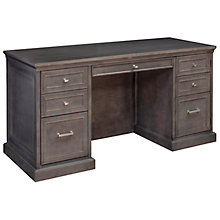 Statesman Compact Executive Desk, MRN-10687